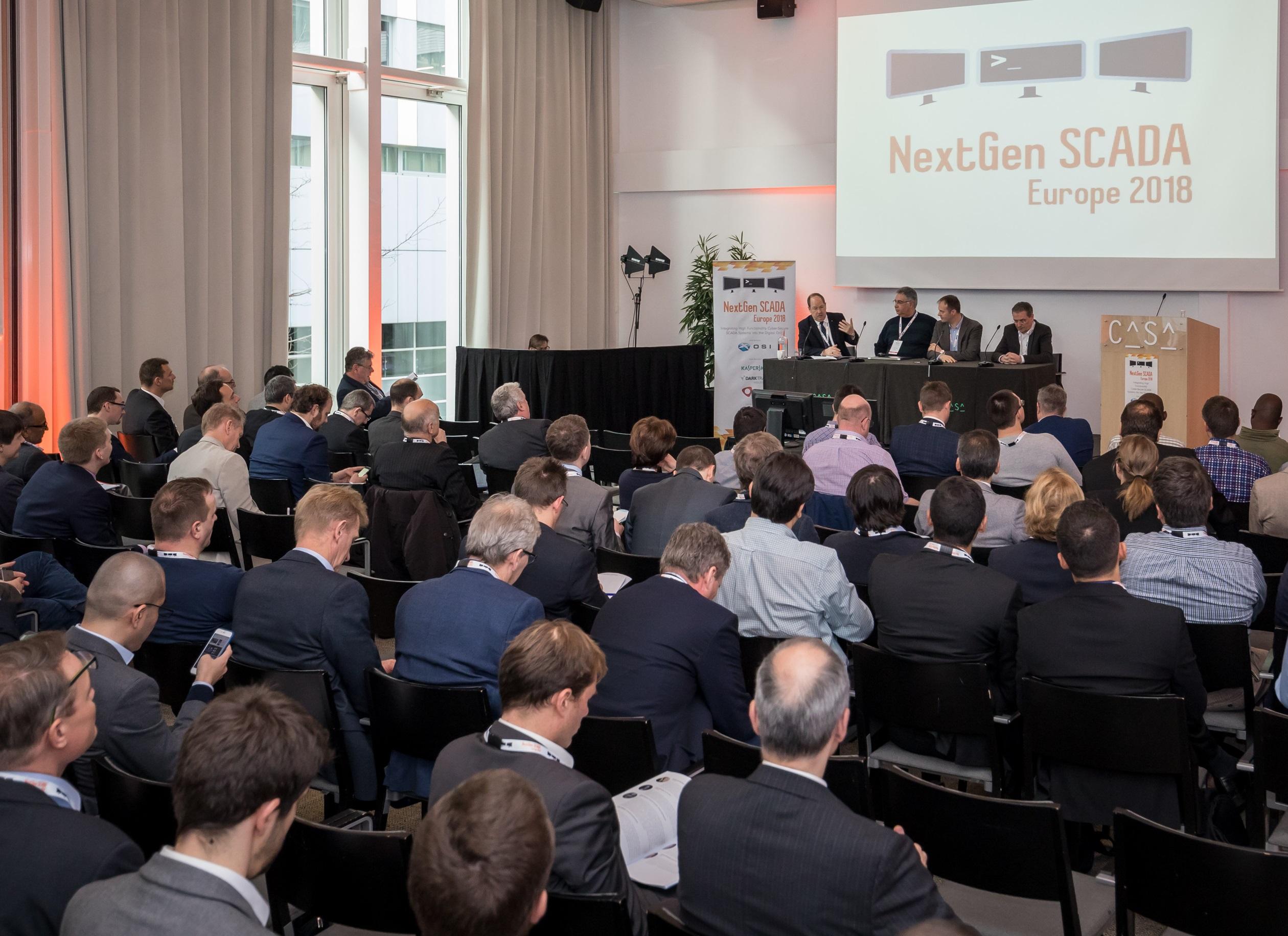 Конференция «NextGen SCADA Europe 2018»